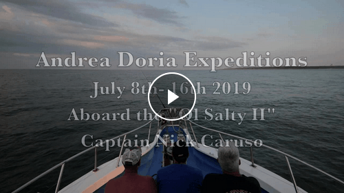 Andrea Doria Diving Trip Video, NJ