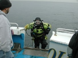 Ol Salty II Scuba Diving