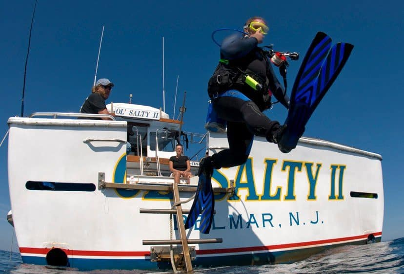Scuba Diving-Ol Salty II -NJ