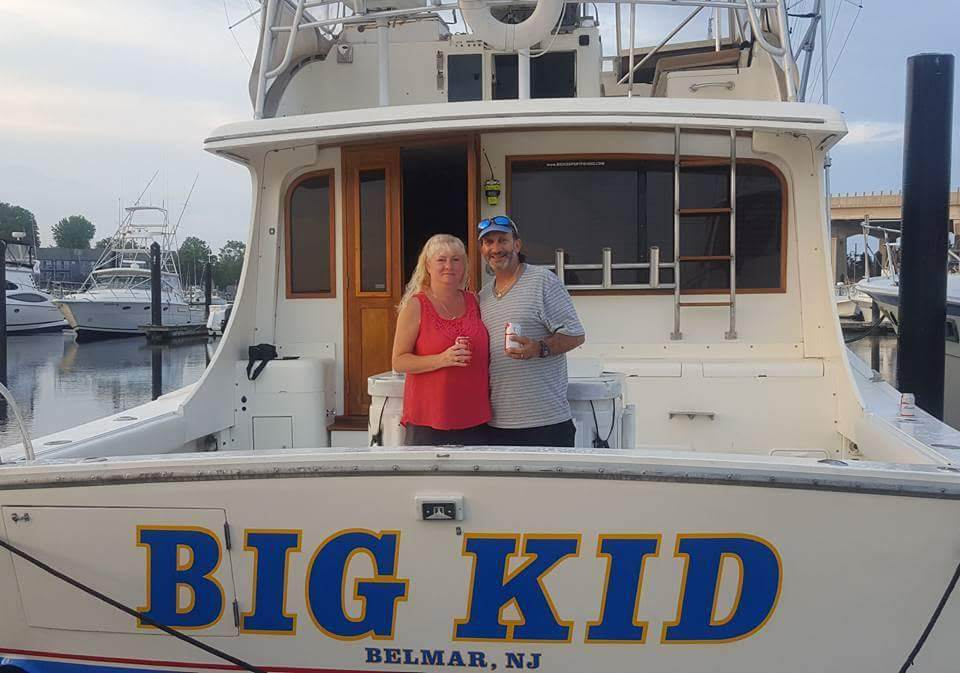 Sportfishing in Belmar, NJ